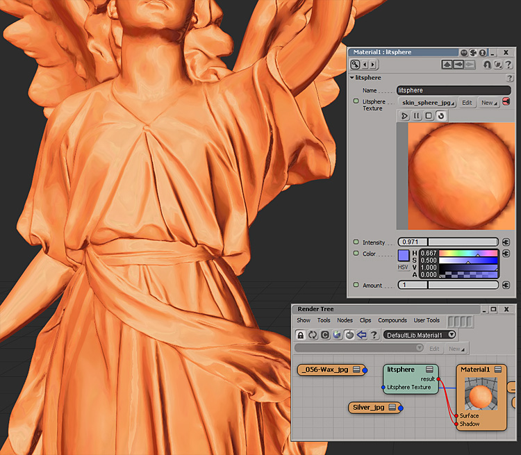Update – MatCap (litsphere) shading in Softimage 2013 – andy